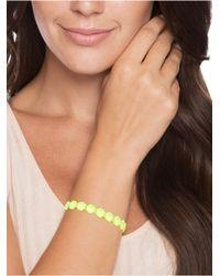 BaubleBar - Orange Cruciani C Mars Bracelet-Neon Peach - Lyst