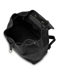 L.K.Bennett - Black Brenda Buckle Backpack - Lyst