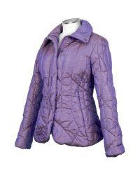 FORZIERI | Womens Metallic Purple Puffer Jacket | Lyst