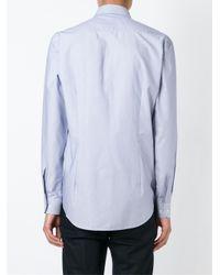 Etro - Blue Button Down Shirt for Men - Lyst