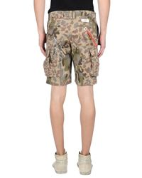 Saucony | Natural Bermuda Shorts for Men | Lyst