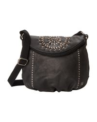The Sak | Black Deena Flap Crossbody | Lyst