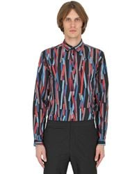 Christopher Kane | Multicolor 3d Bolster Printed Cotton Poplin Shirt for Men | Lyst