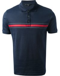 Gucci | Blue Short Sleeve Polo Shirt for Men | Lyst