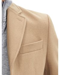 Banana Republic | Gray Layered Topcoat for Men | Lyst