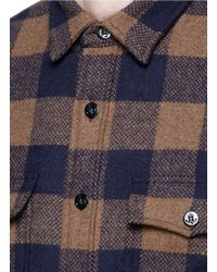 J.Crew | Multicolor Buffalo Check Cpo Shirt-jacket for Men | Lyst