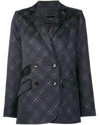 Wes Gordon - Black Printed Jacket - Lyst