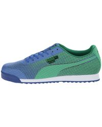 PUMA   Blue Roma Engineer Camou Sneaker for Men   Lyst