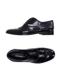 Alessandro Dell'acqua - Black Lace-up Shoes for Men - Lyst