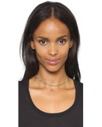 Vanessa Mooney - Metallic The Dazed Choker Necklace - Lyst