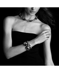 David Yurman - Waverly Bracelet with Black Onyx and Gold - Lyst
