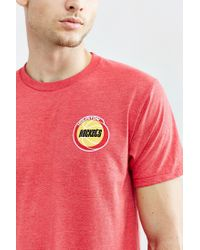 Urban Outfitters - Red Houston Rockets Vintage Logo Tee for Men - Lyst