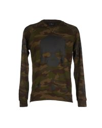 Hydrogen - Green Sweatshirt for Men - Lyst