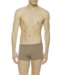 La Perla | Brown Square-leg Swim Shorts for Men | Lyst