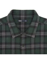 Onassis Clothing | Green Plaid Cotton Flannel Shirt for Men | Lyst