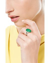 Fd Gallery | Green Vintage Art Deco Jade Onyx and Diamond Ring By Hm Beattie Sons | Lyst