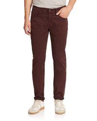 J Brand - Purple Kane Slim Straight-leg Jeans for Men - Lyst