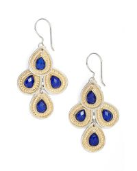 Anna Beck | Metallic 'gili' Chandelier Earrings | Lyst