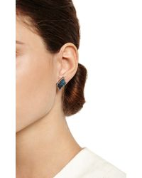 Kimberly Mcdonald - Blue One Of A Kind Boulder Opal and Diamond Studs - Lyst