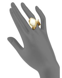 Stephanie Kantis | Metallic Luxe Two-tone Wrap Ring | Lyst