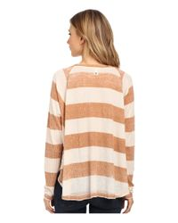Billabong | Natural Goes In Waves Pullover | Lyst