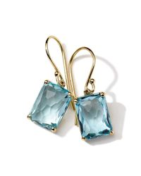 Ippolita | Blue 18K Rock Candy Drop Earrings | Lyst