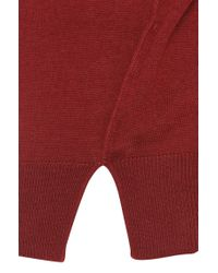 HUGO - Red Sweater In New Wool: 'sharyl' - Lyst