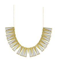 House of Harlow 1960 | Metallic Trapezoid Collar Necklace | Lyst