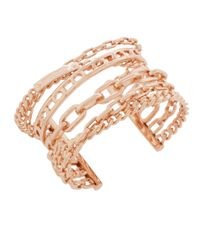 Henri Bendel   Pink Deb Link Statement Cuff Bracelet   Lyst