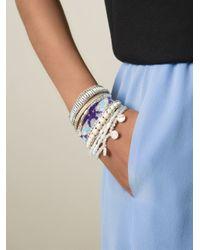 Hipanema | White 'honolulu' Bracelet | Lyst