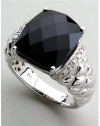 Lord & Taylor | Metallic Bold Gemstone Ring | Lyst