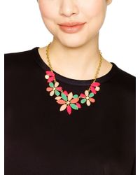 kate spade new york | Multicolor Gardens Of Paris Statement Necklace | Lyst