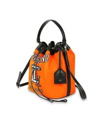 Moschino | Orange Women's Handbag | Lyst