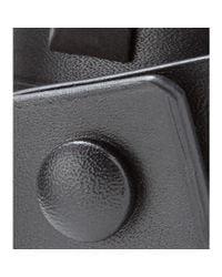 Givenchy - Black Obsedia Studded Leather Wrap Bracelet - Lyst