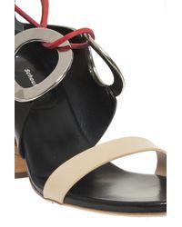 Proenza Schouler - Natural Rivet Heel Sandals - Lyst