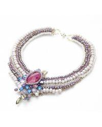 Nakamol | Multicolor Regalia Necklace-purple | Lyst