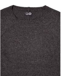 Cheap Monday - Gray Jumper In Slub Knit for Men - Lyst
