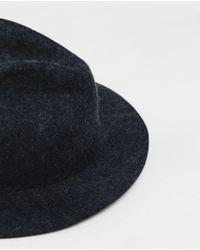 Zara | Black Felt Hat for Men | Lyst
