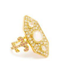 Sabine G - Metallic 'Calixte' Ring - Lyst