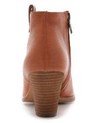 Madewell | Brown The Brook Side Tab Booties - True Black | Lyst