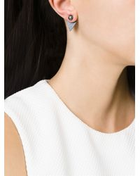 Katrine Kristensen | Black 'big Ball' Earrings | Lyst