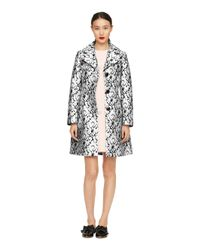 kate spade new york | Metallic Vanna Coat | Lyst
