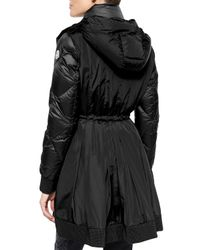 Moncler - Black Verrerie Quilted Hooded Puffer Coat - Lyst