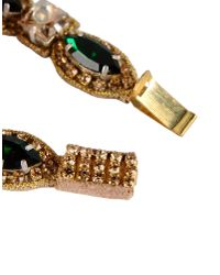 Deepa Gurnani - Green Bracelet - Lyst