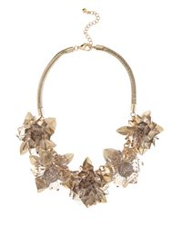 Coast | White Faria Flower Necklace | Lyst