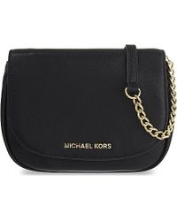 MICHAEL Michael Kors | Black Bedford Small Leather Cross-body Bag | Lyst
