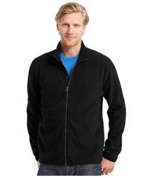 Izod | Black Full-zip Jacket for Men | Lyst