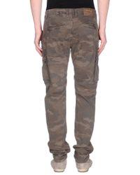 GAUDI - Natural Casual Trouser for Men - Lyst
