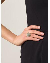 Vivienne Westwood   Metallic 'ryan' Ring   Lyst