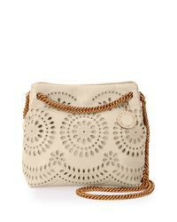 Stella McCartney - Natural Noma Faux-Leather Cross-Body Bag  - Lyst